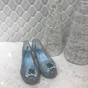 Cinderella princess shoes, size 9/10